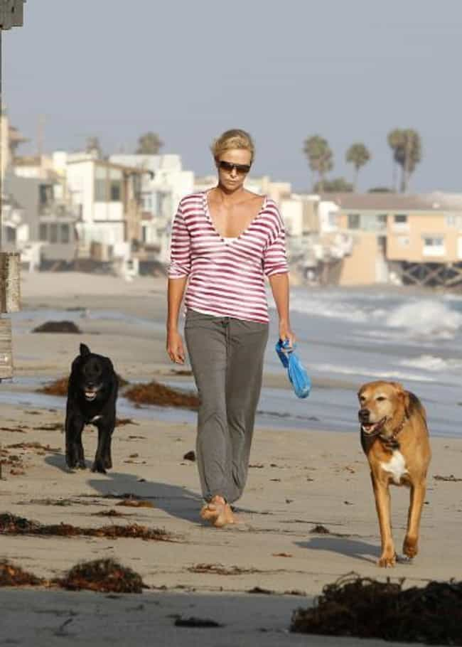 Charlize Theron is listed (or ranked) 4 on the list 26 Celebrities Who Have a Ton of Pets