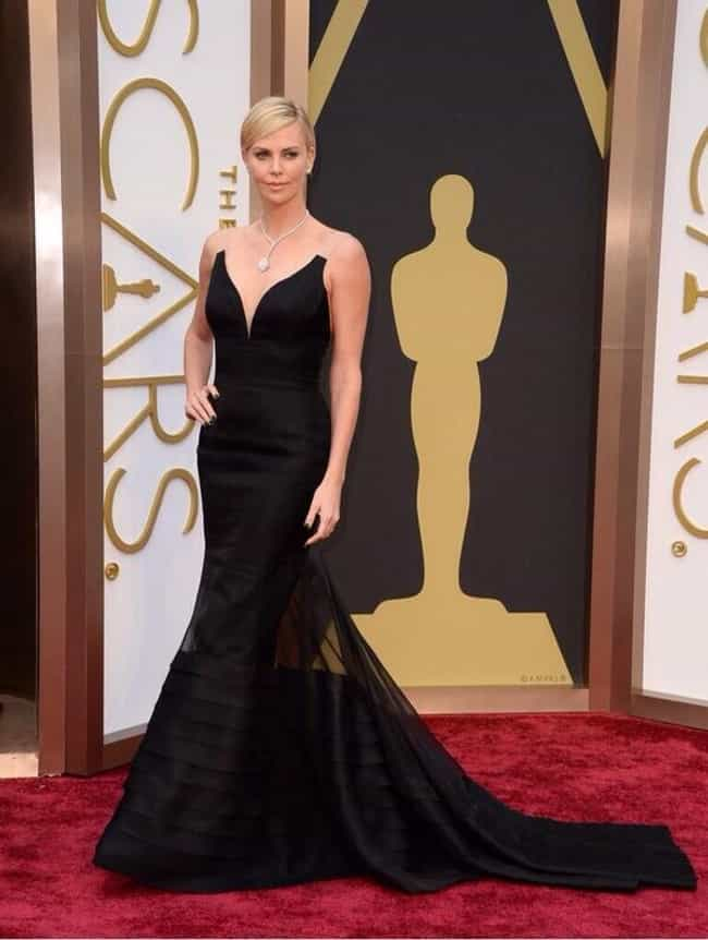 Charlize Theron is listed (or ranked) 4 on the list 2014 Oscars Red Carpet Best Dressed