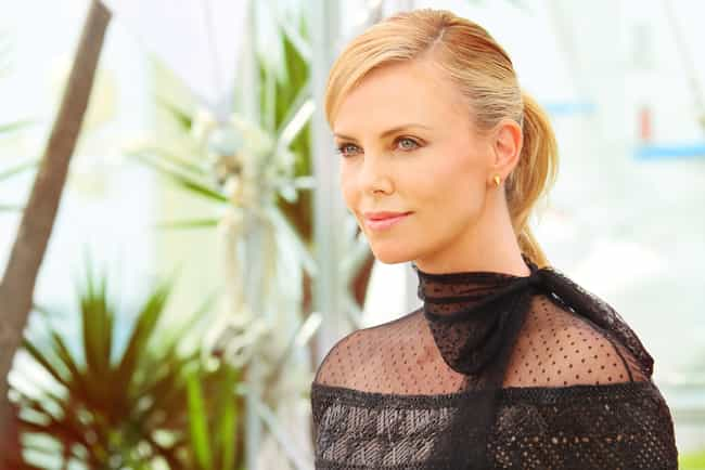 Charlize Theron is listed (or ranked) 4 on the list 50 Celebrities Who Never Had Plastic Surgery