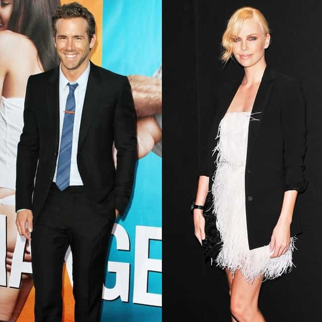 Charlize Theron is listed (or ranked) 2 on the list Ryan Reynolds's Loves & Hookups