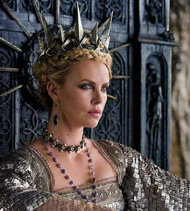 Charlize Theron is listed (or ranked) 8 on the list Famous High School Dropouts