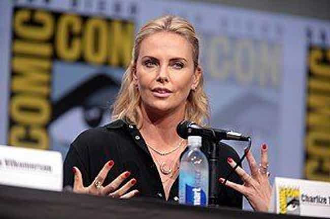 Charlize Theron is listed (or ranked) 3 on the list Celebrities from Abusive Families