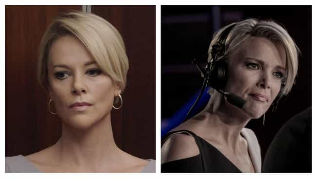 Charlize Theron is listed (or ranked) 1 on the list 'Bombshell' Actors Vs. The Real-Life People They're Playing