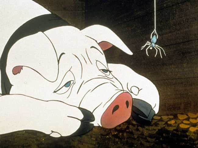 Charlotte's Web is listed (or ranked) 4 on the list Every Time A Children's TV Show Or Movie Dealt With Death