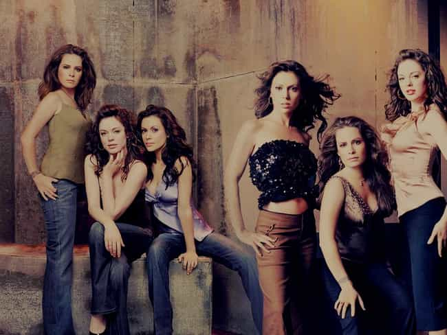 Charmed is listed (or ranked) 4 on the list TV Shows with the Hottest Casts