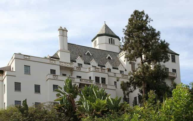 Chateau Marmont Hotel is listed (or ranked) 4 on the list The Most Over-The-Top Old Hollywood Party Pads