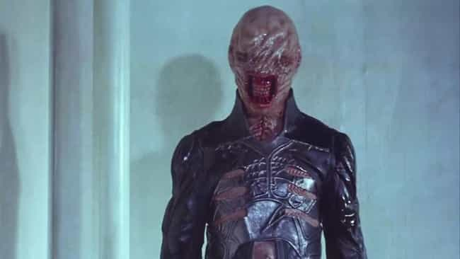 Chatterer is listed (or ranked) 1 on the list All The Cenobites From The 'Hellraiser' Films, Ranked By Nastiness