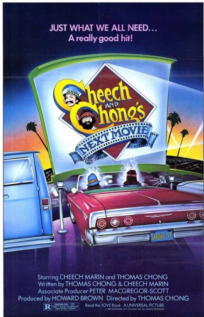 Cheech & Chong's Next Movie is listed (or ranked) 2 on the list The Best Cheech & Chong Movies