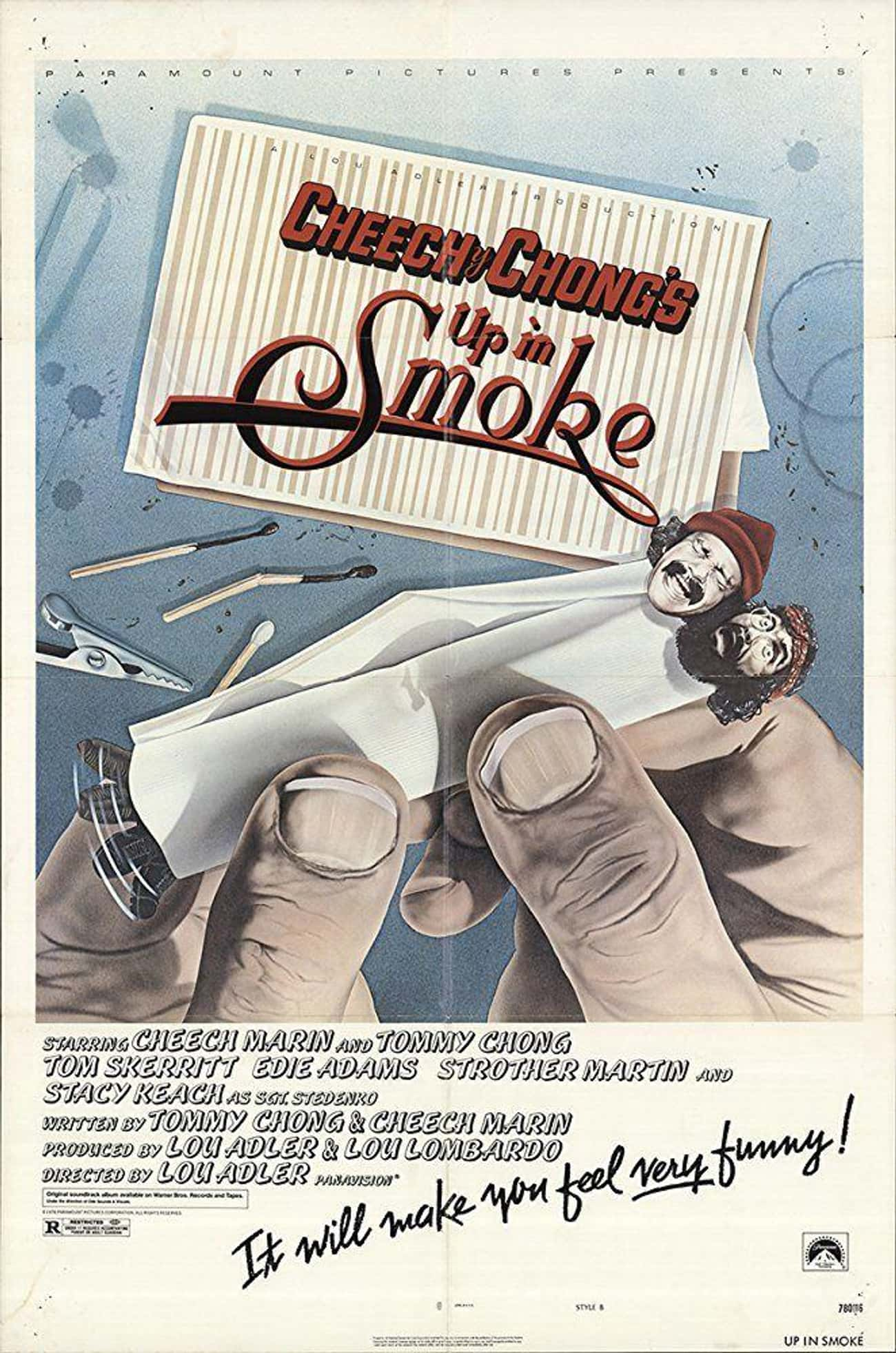 Cheech & Chong's Up in Smoke is listed (or ranked) 1 on the list The Best Cheech & Chong Movies