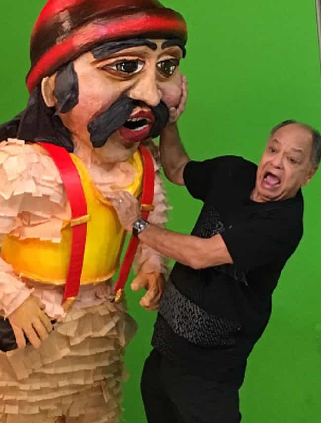 Cheech Marin is listed (or ranked) 4 on the list Famous Hispanic Actors
