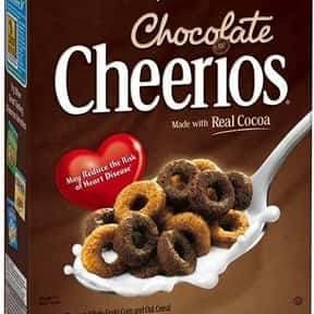 Chocolate Cheerios is listed (or ranked) 8 on the list The Best Chocolate Cereal