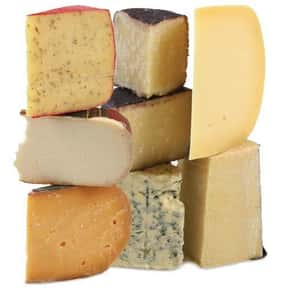 Cheese is listed (or ranked) 12 on the list The Most Delicious Foods in the World