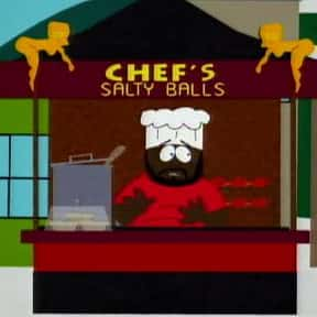 Chef's Chocolate Salty Balls is listed (or ranked) 3 on the list The Best Episodes From South Park Season 2