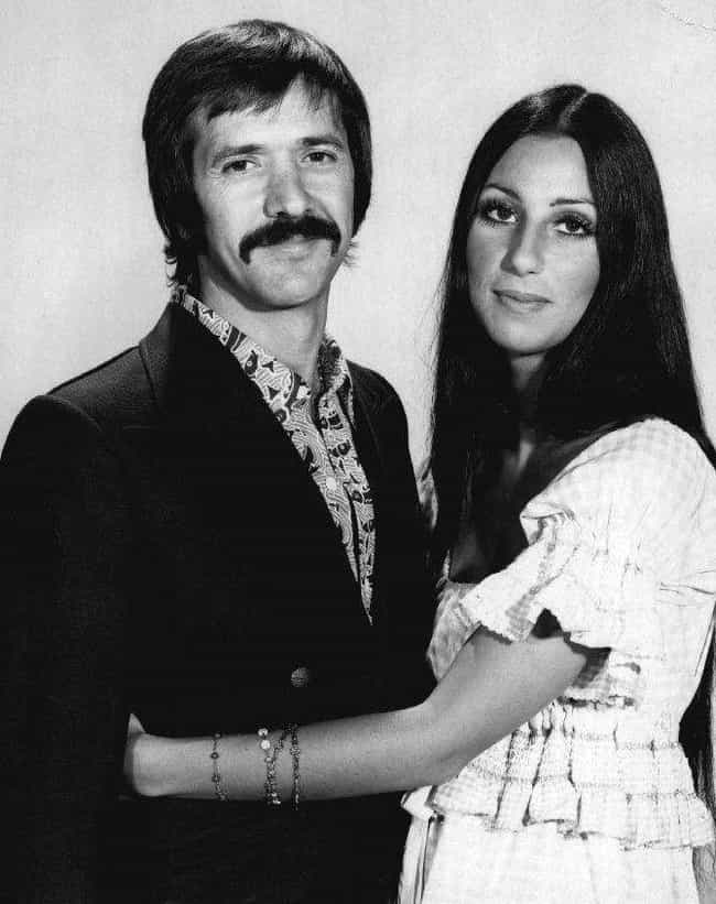 Cher is listed (or ranked) 9 on the list 18 Celebrities Who Married as Teenagers