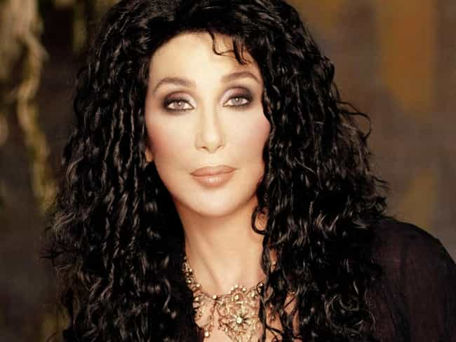 Cher is listed (or ranked) 1 on the list Famous People Born in 1946