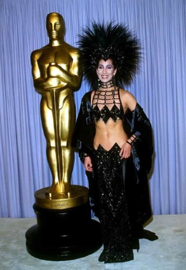 Cher is listed (or ranked) 1 on the list The Nuttiest Accessories Stars Ever Rocked During the Oscars