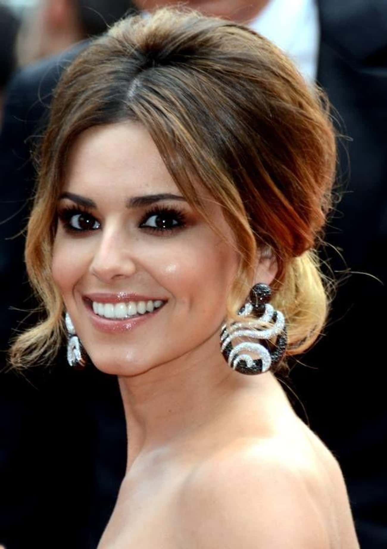 Cheryl Cole is listed (or ranked) 2 on the list Beautiful Celebrity Women with Cute Dimples