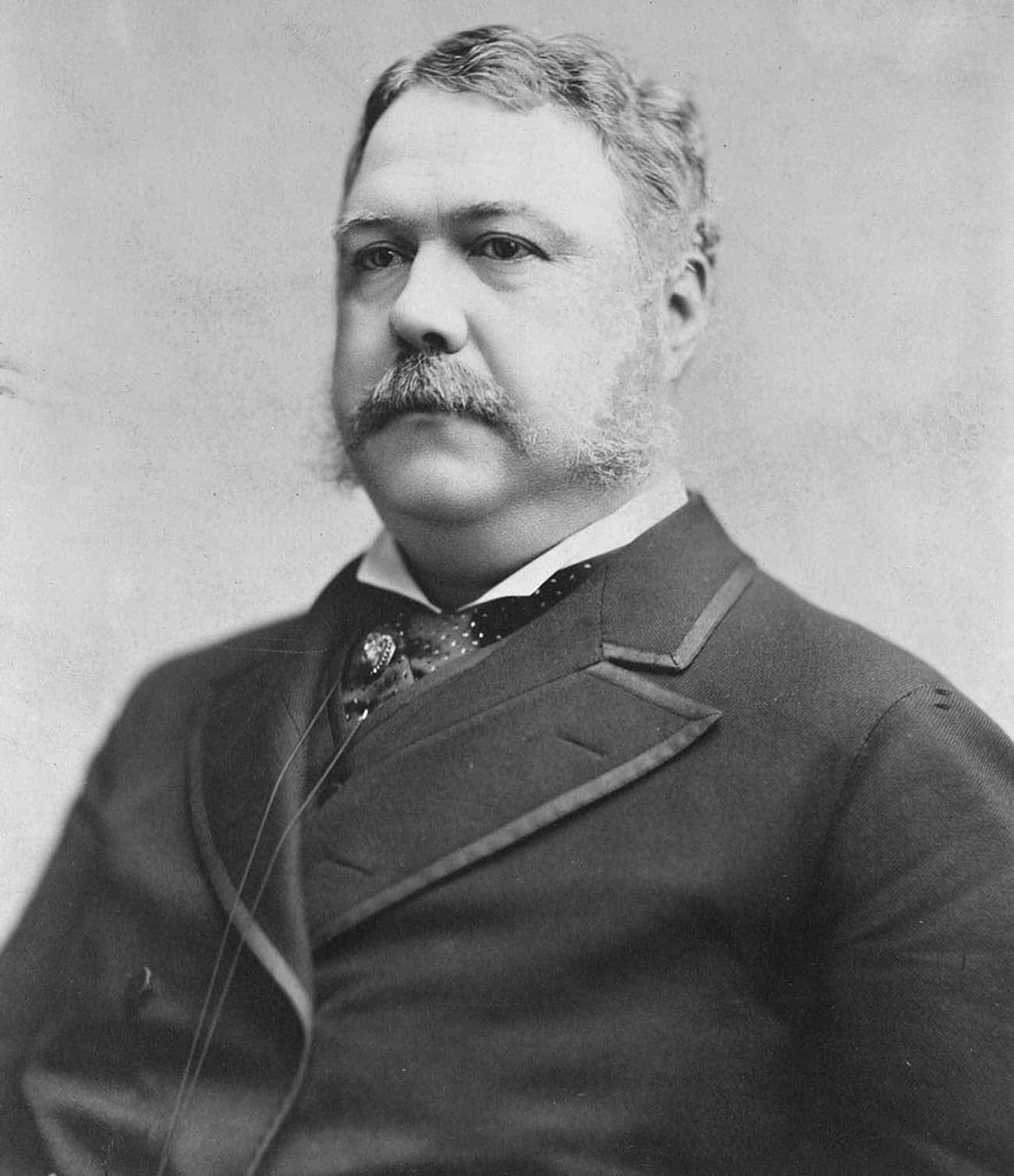Chester A. Arthur is listed (or ranked) 4 on the list U.S. Presidents Who Weren't Elected Into Office