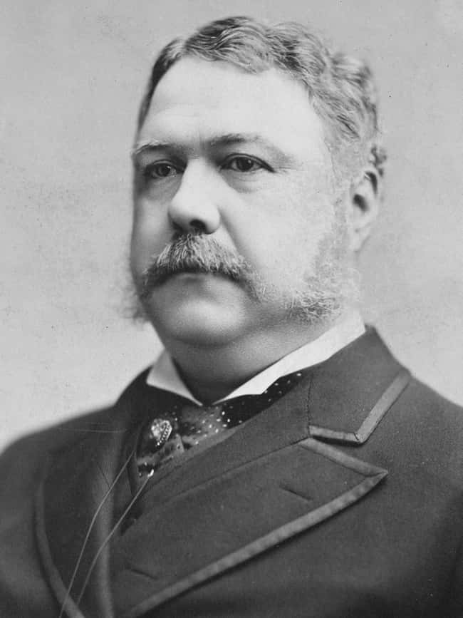 Chester A. Arthur is listed (or ranked) 21 on the list Every U.S. President & Every Medical Problem They've Ever Had