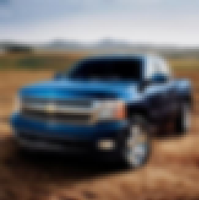 Chevrolet Silverado is listed (or ranked) 4 on the list The Most Popular Cars for Men