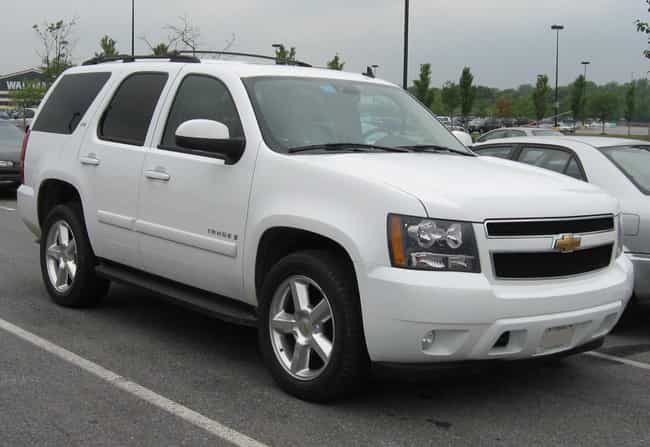 Chevrolet Tahoe is listed (or ranked) 2 on the list The Best Fuel Efficient SUVs: Large And Mid Size SUVs