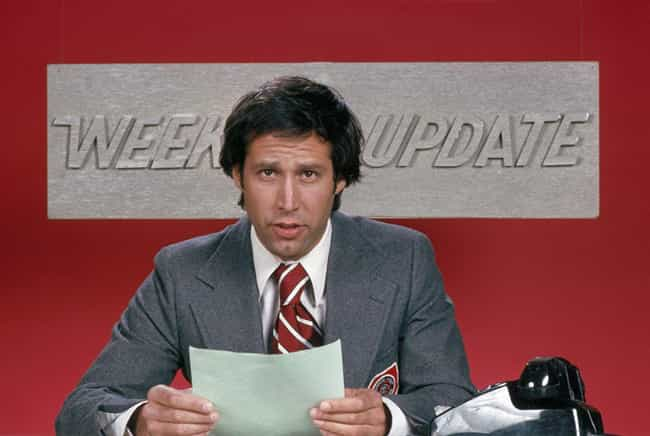 Chevy Chase is listed (or ranked) 3 on the list What The Cast Of 'Saturday Night Live' Thinks About The Show