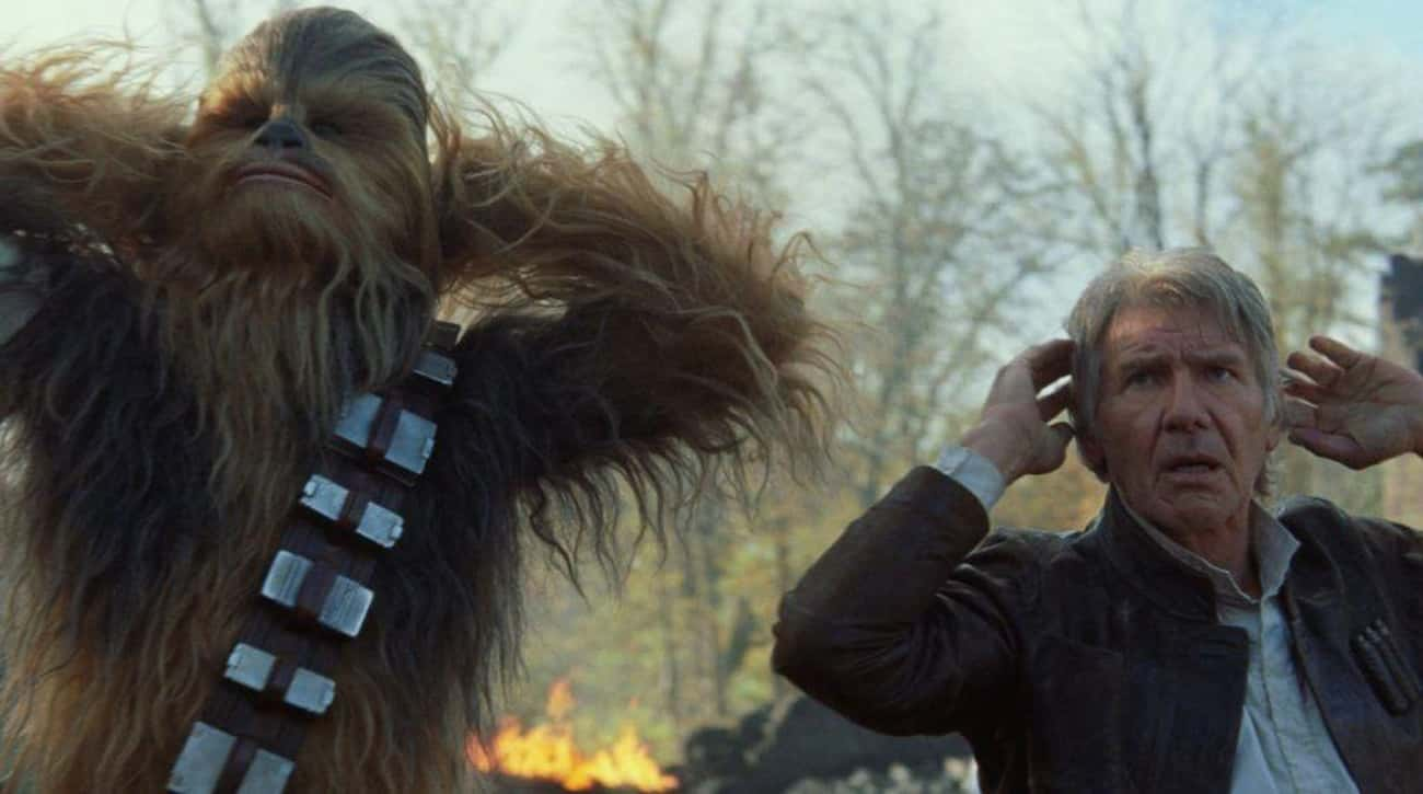 Chewbacca Is 234 is listed (or ranked) 3 on the list Fictional Characters Who Are Way Older Than They Look