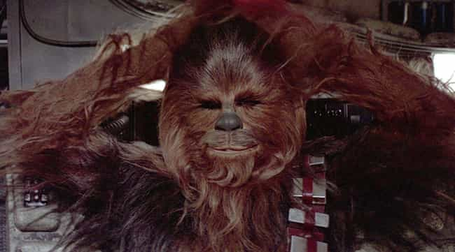 Chewbacca is listed (or ranked) 4 on the list How Old Are Star Wars Characters, Really?