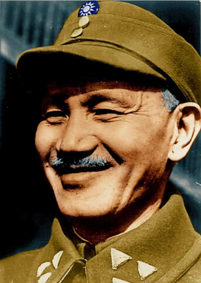 Chiang Kai-shek is listed (or ranked) 3 on the list Signature Afflictions Suffered By History's Most Famous Despots