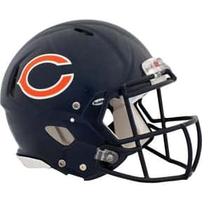 Bears is listed (or ranked) 19 on the list The Best Current NFL Helmets