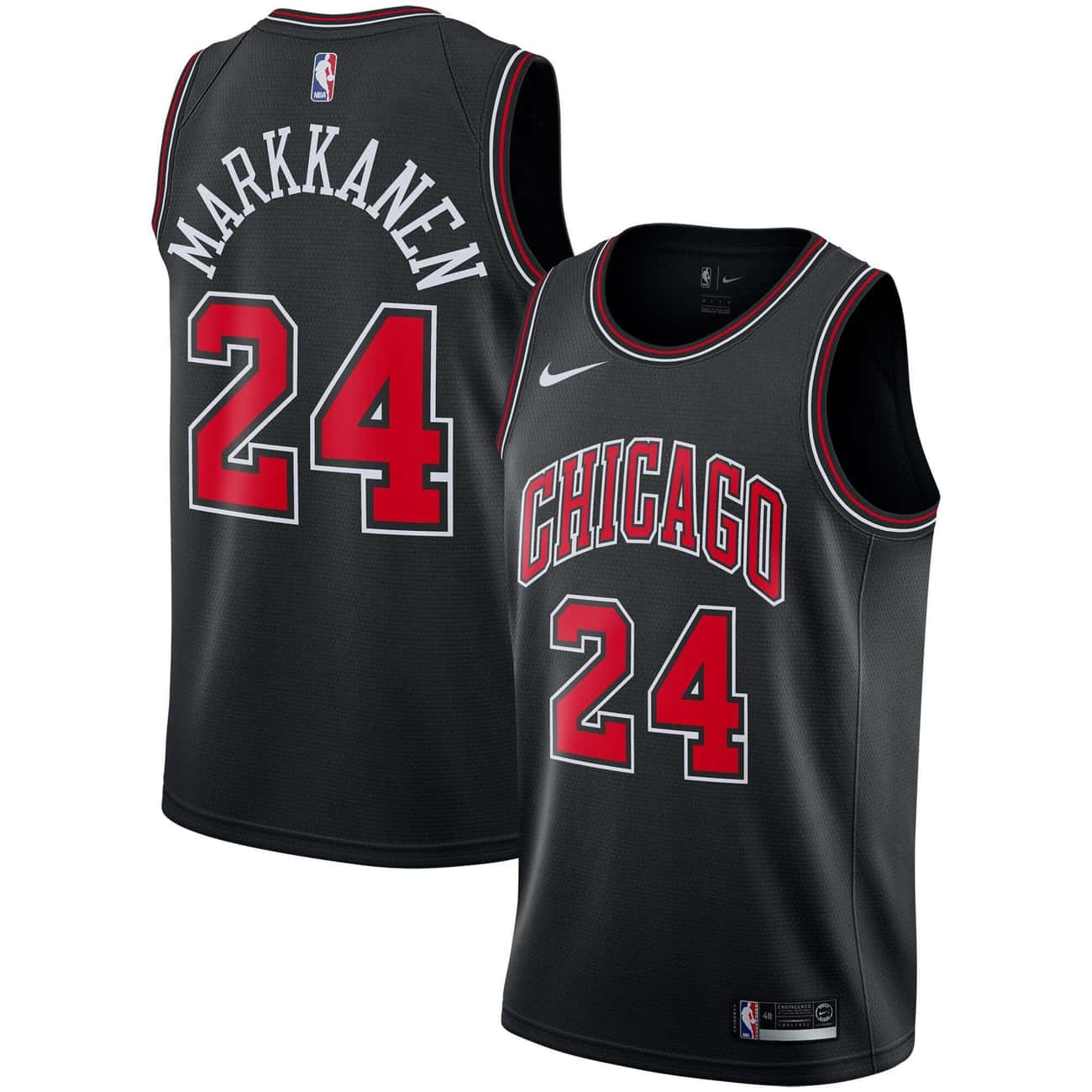 """Chicago Bulls is listed (or ranked) 3 on the list The Coolest NBA """"Statement Edition"""" Jerseys"""