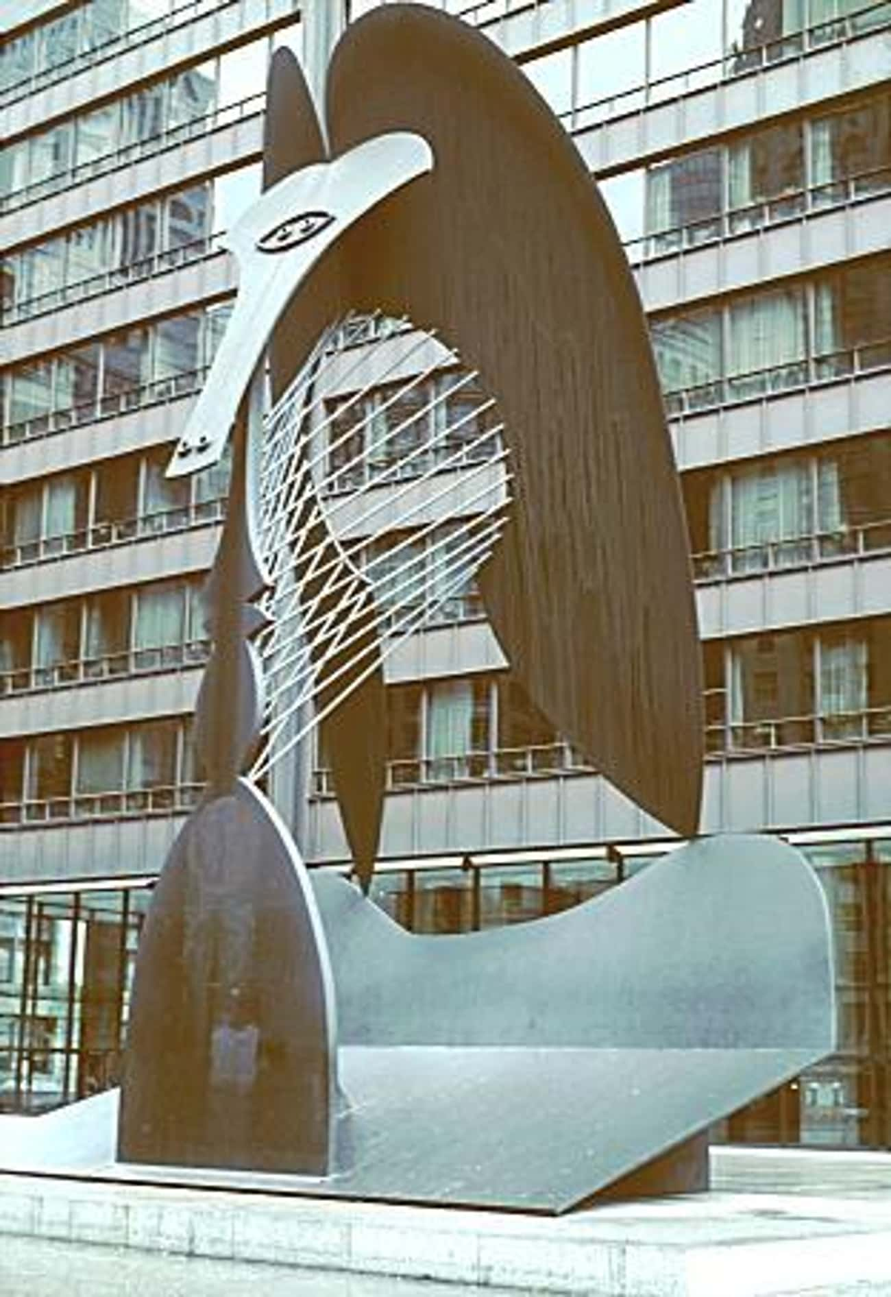 Chicago Picasso is listed (or ranked) 2 on the list Famous Pablo Picasso Sculptures