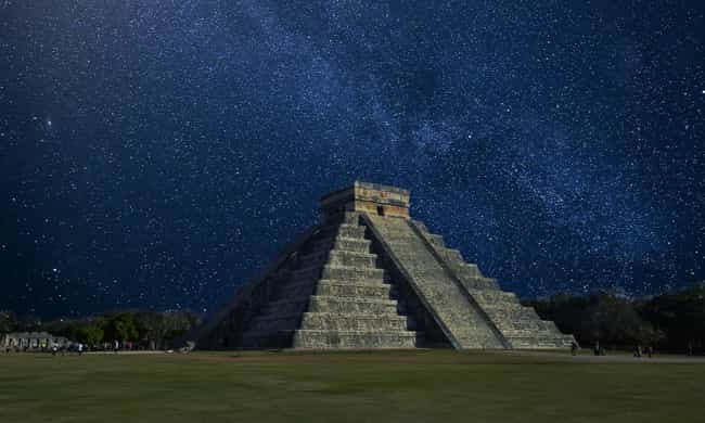 Chichen Itza is listed (or ranked) 3 on the list 13 Terrifying, Haunted Historical Sites from Around the World