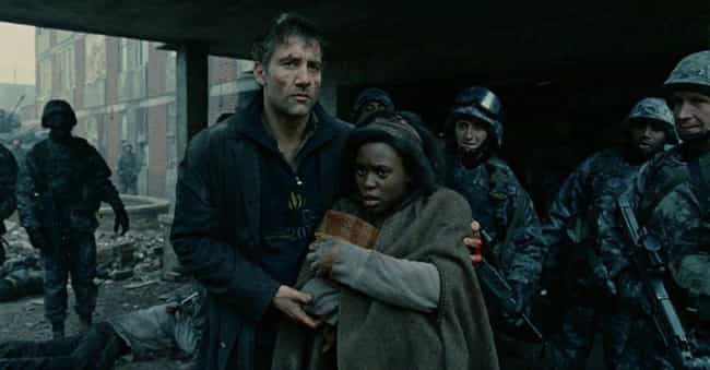 Children of Men is listed (or ranked) 2 on the list Underrated Sci-Fi Movies Set In A Lawless Post-Apocalyptic Frontier