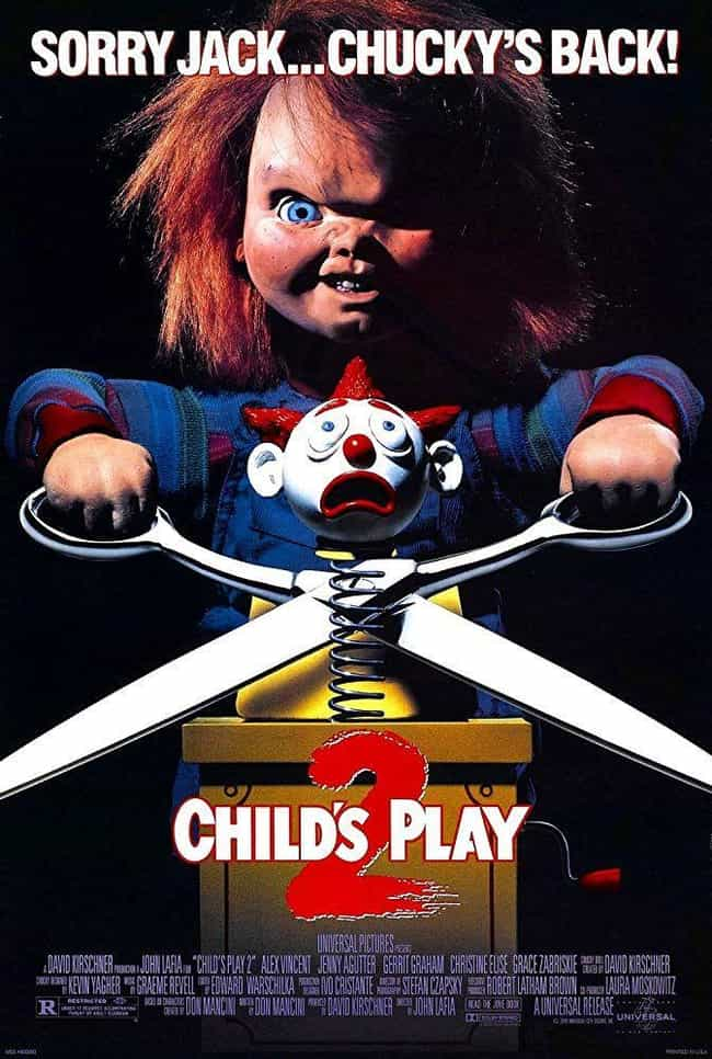 Child's Play 2 is listed (or ranked) 3 on the list Every Movie In The 'Child's Play' Franchise, Ranked