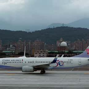 China Airlines is listed (or ranked) 12 on the list List of Vancouver International Airport Airlines
