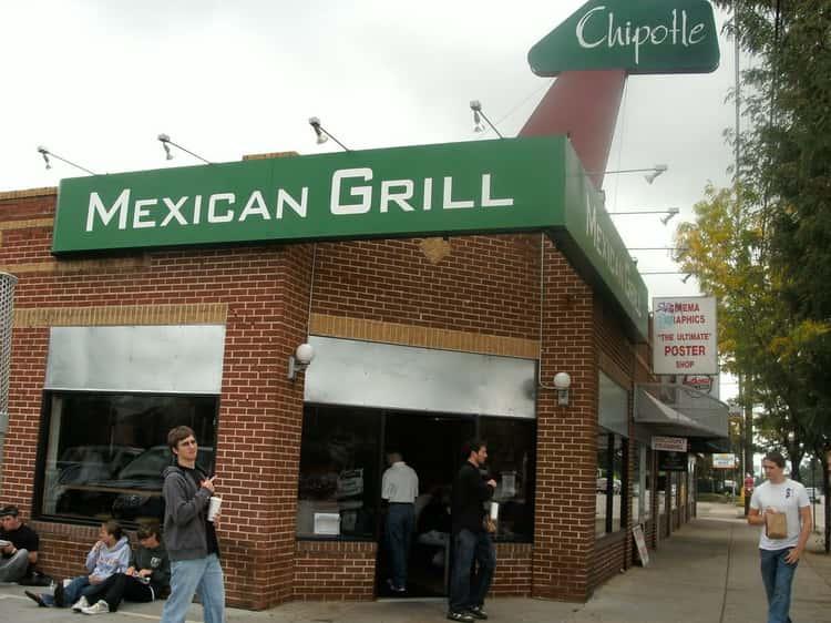 Chipotle (1644 E. Evans Ave., Denver, CO)