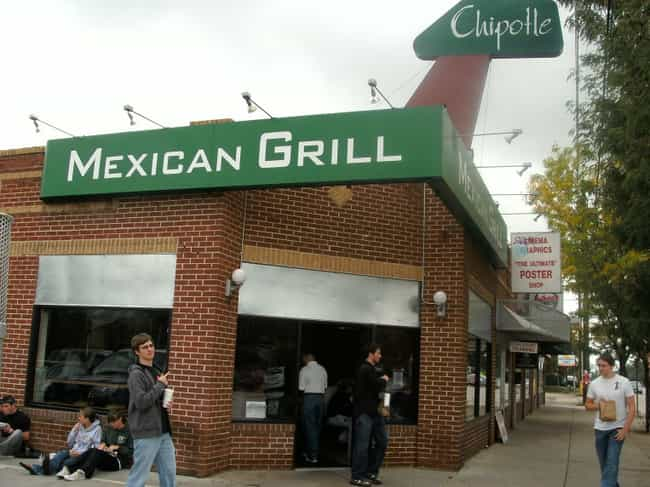 Chipotle Mexican Grill is listed (or ranked) 2 on the list Well-Known Franchises Whose Original Locations Are Still In Business