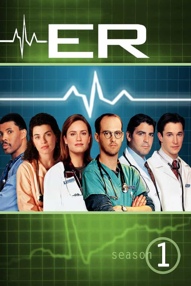 ER, Season 1 is listed (or ranked) 1 on the list The Best Seasons of 'ER'