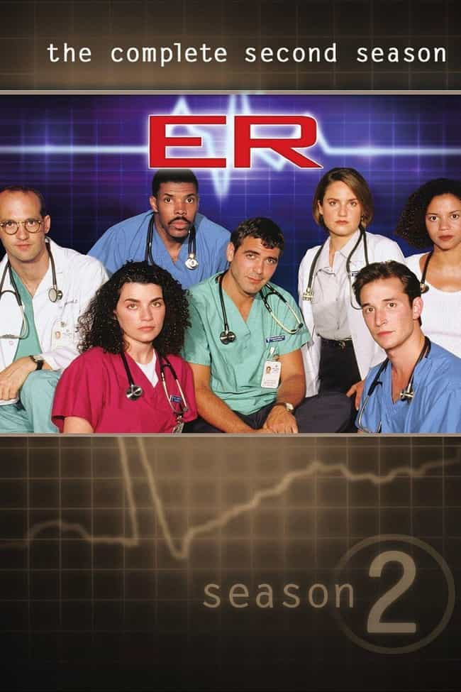 ER, Season 2 is listed (or ranked) 2 on the list The Best Seasons of 'ER'