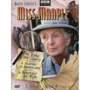 Miss Marple is listed (or ranked) 20 on the list The Greatest TV Shows Set in the '50s