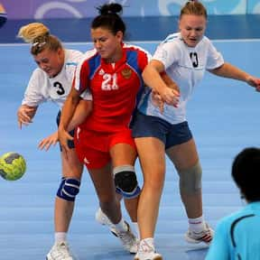 Handball is listed (or ranked) 25 on the list The Best Team Sports for Girls