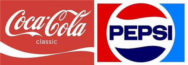 Coke vs. Pepsi is listed (or ranked) 1 on the list 30 Most Storied Corporate Rivalries