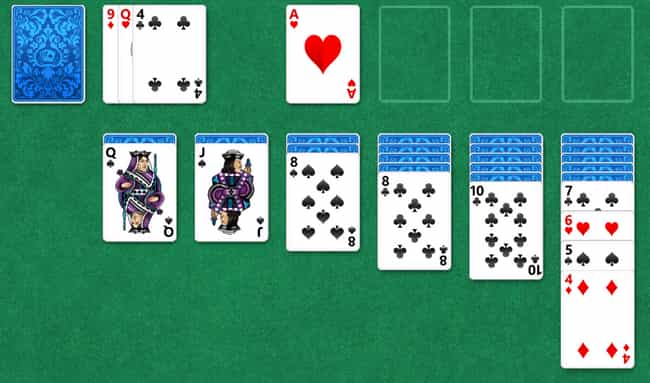 Solitaire is listed (or ranked) 4 on the list The Best Mobile Card Games