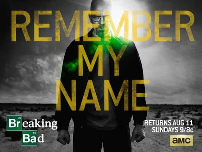Breaking Bad - Season 5 is listed (or ranked) 1 on the list Rank the Seasons of Breaking Bad