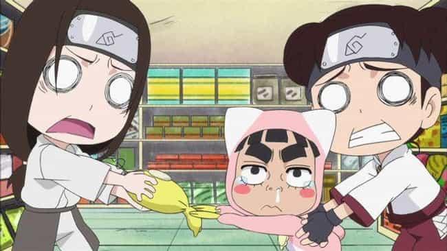Rock Lee & His Ninja Pals is listed (or ranked) 7 on the list The Best Anime Like Isekai Quartet