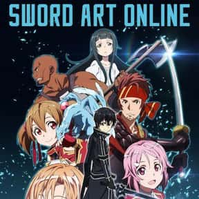 Sword Art Online is listed (or ranked) 20 on the list The Most Popular Anime Right Now