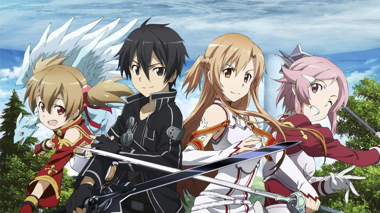Sword Art Online is listed (or ranked) 2 on the list 16 Overrated Anime That Get Way More Credit Than They Deserve