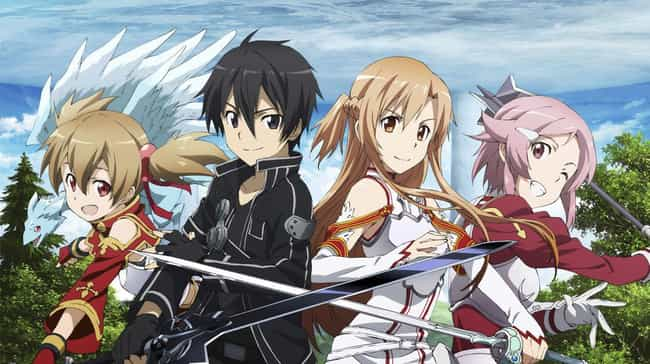 Sword Art Online is listed (or ranked) 4 on the list The 13 Best Anime Like Accel World