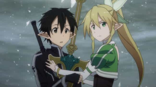 Sword Art Online is listed (or ranked) 3 on the list The 15 Greatest Guilty Pleasure Anime You Secretly Love